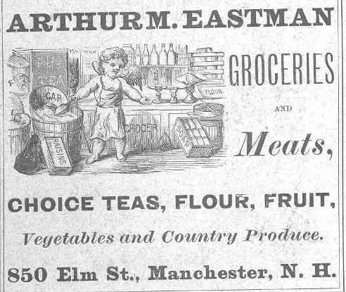 1880 Business Advertisement