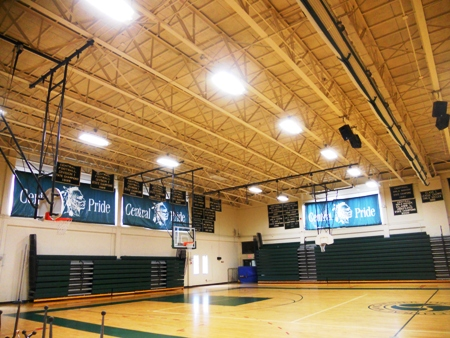 Central Gym New Lighting