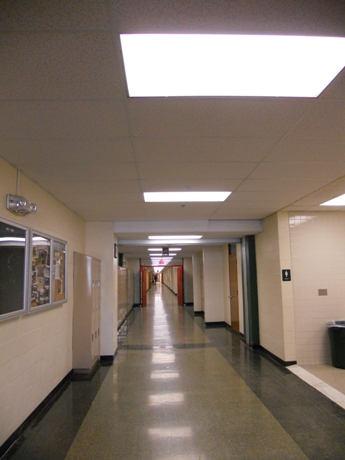 Central High Hallway