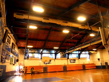 West Gym Lighting