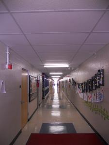 Gossler School Hallway