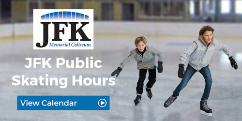 JFK Public Skating Hours Graphic