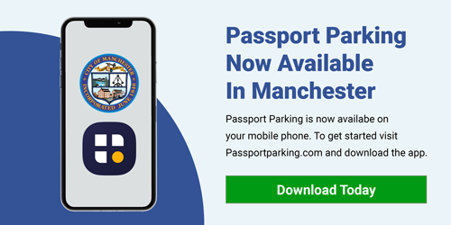 Passport Parking  Now Available  In Manchester  Passport Parking is now availabe on your mobile phone. To get started visit Passportparking.com and download the app.