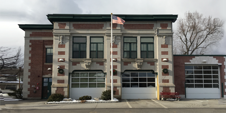Fire Station Two in Manchester, NH