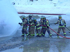 Using Fire Hose