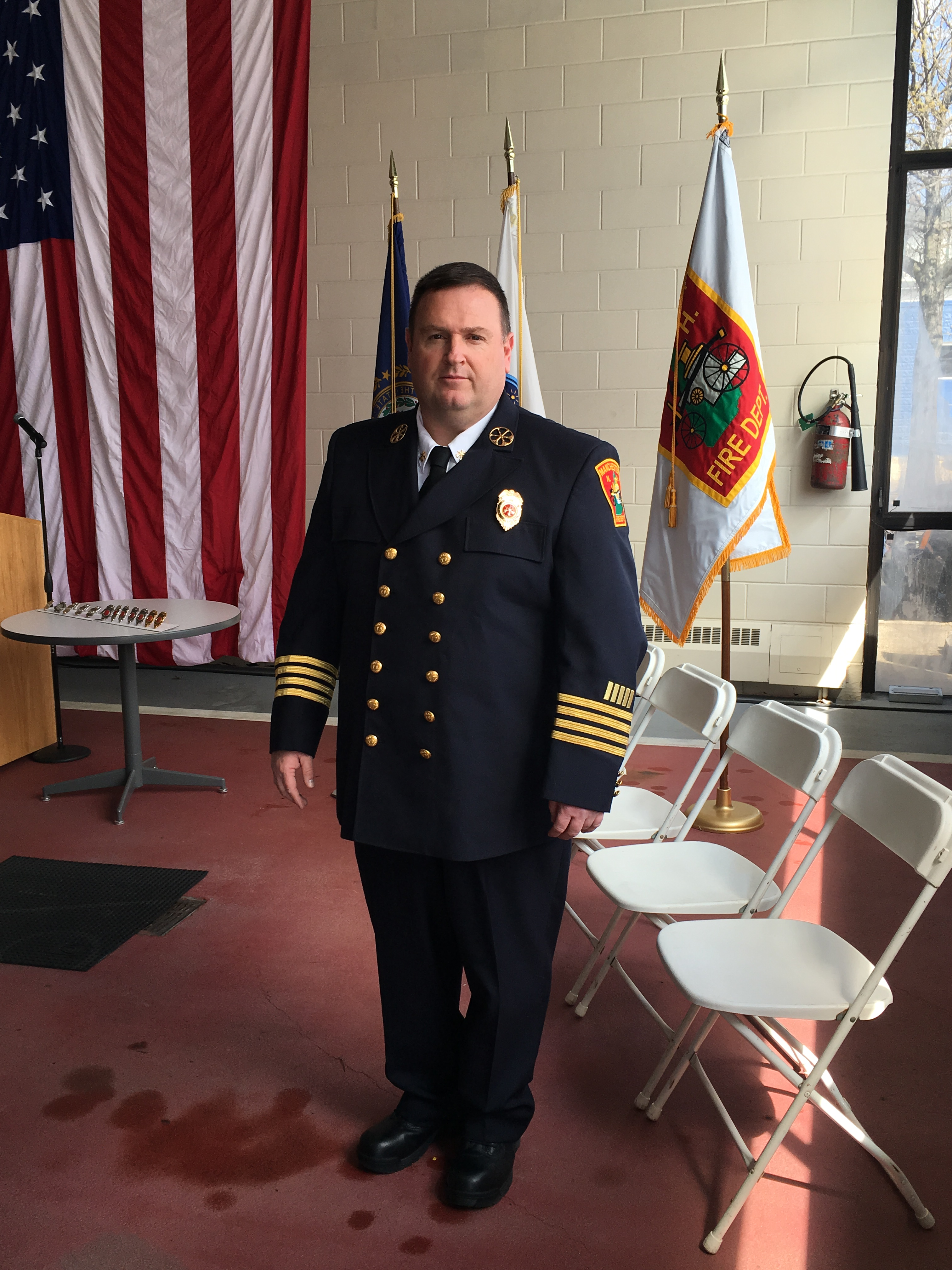 Deputy Chief Richard McGahey