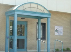 Health Department Rear Entrance