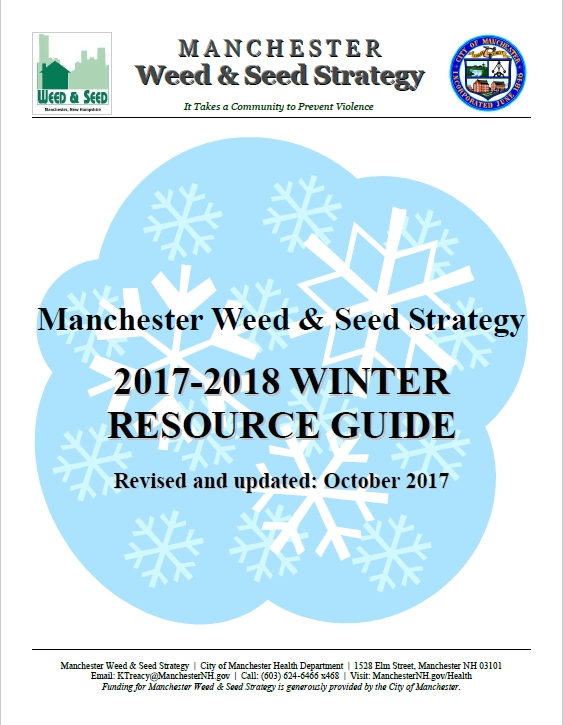 Winter Assistance Guide Front Cover