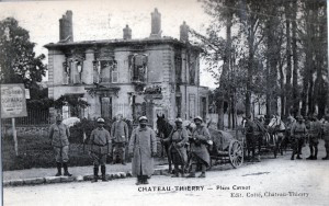 French soldiers at Chateau Thierry