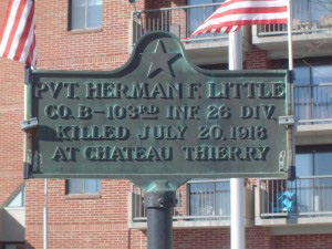 Herman F. Little recognition plaque