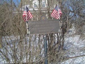 Joseph H.W. Roux's recognition plaque