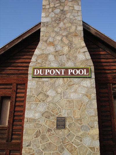 Dupont Pool Sign