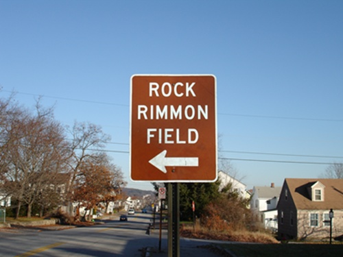 Rock Rimmon Sign