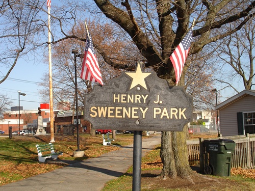 Sweeney Park Sign
