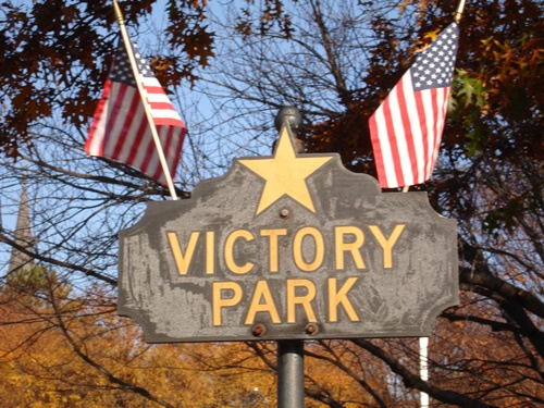 Victory Park Sign