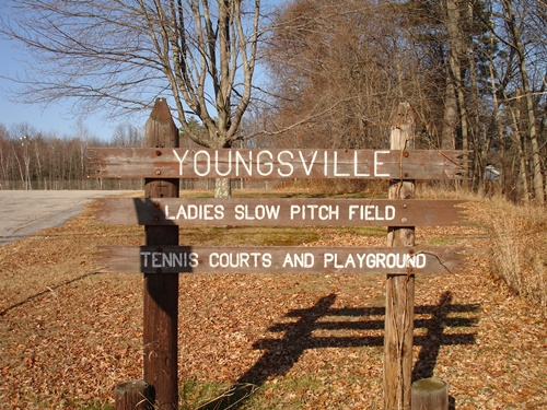 Youngsville Park Sign