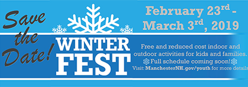 Save The Date, Winter Fest 2018 Feb. 23 - Mar. 3