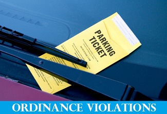 Ordinance Violations