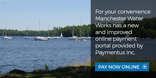 For your convenience Manchester Water Works has a new and improved online payment portal provided by Paymentus Inc.