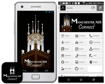 Manchester, NH Connect Mobile Apps